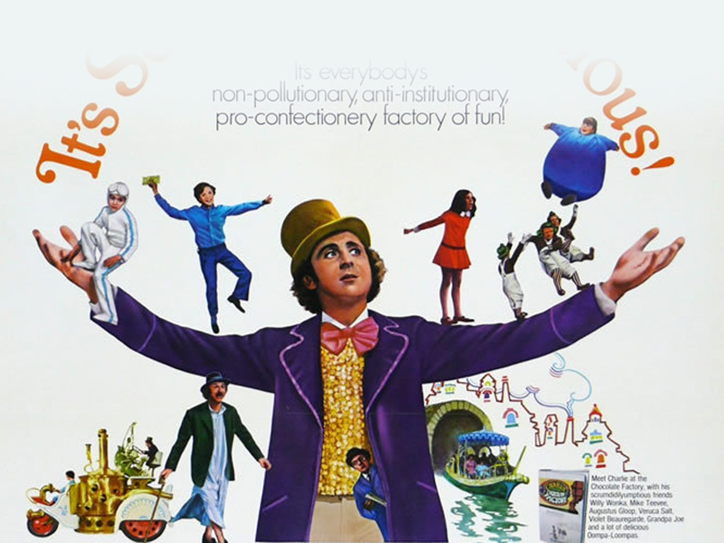 Free Family Film: Willy Wonka & The Chocolate Factory