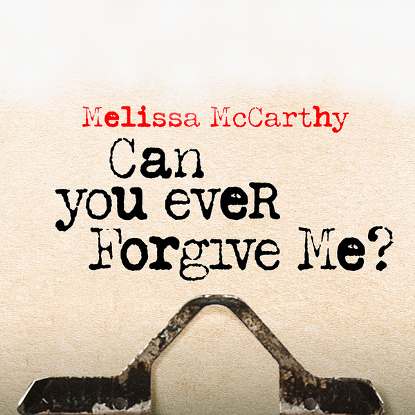 Sunday Cinema: Can You Ever Forgive Me?